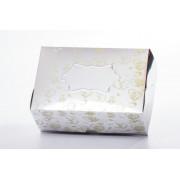 Коробка (принт золотой чай, метал)