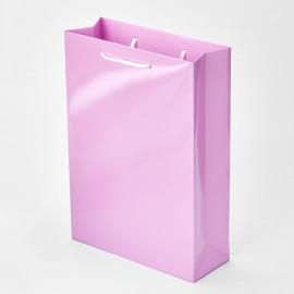 Пакет розовый