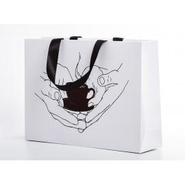 Пакет белый (кофе)