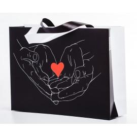 Пакет черны (сердце)