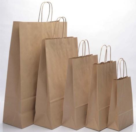 История бумажных пакетов. Типы, материалы пакетов
